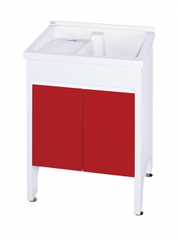 U-360固定式洗衣台(中國紅)