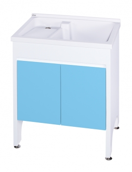 U-370固定式洗衣台(天空藍)