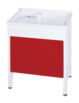 U-370固定式洗衣台(中國紅)