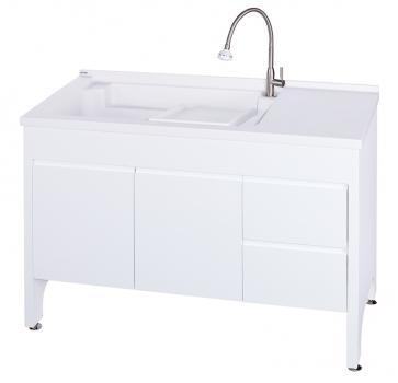 U-5120L活動式洗衣台(純潔白)