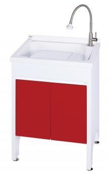 U-560活動式洗衣台(中國紅)