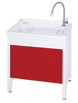 U-575B活動式洗衣台(中國紅)