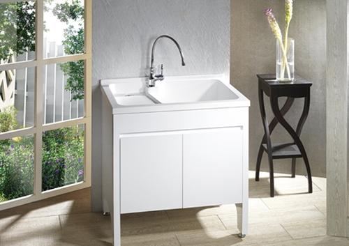 固定式洗衣板洗衣檯