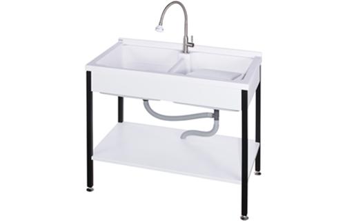 ST-5100活動式雙槽洗衣台