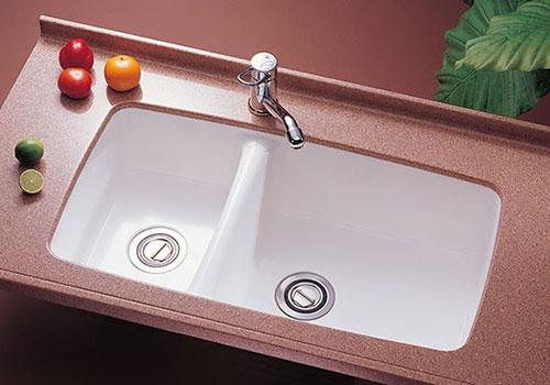 U-203廚房雙水槽洗手台